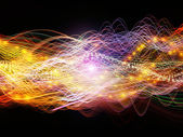 Speed of Dynamic Waves — Stock Photo