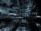Assim que o mundo fractal — Fotografia Stock