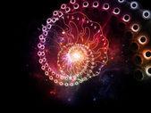 Flux en spirale — Photo