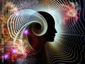 人类心灵的元素 — 图库照片