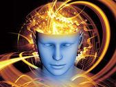 Ilusão da mente — Foto Stock