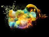 Unfolding of Design Nebulae — Stock Photo