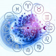 Stock Photo: Workings of Zodiac