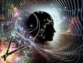 Времена человеческого разума — Стоковое фото