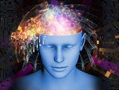 Explosão de mente — Fotografia Stock