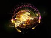 Explosión de tecnología Cloud — Foto de Stock