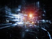 Fractal wereld technologieën — Stockfoto