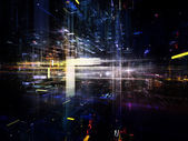 Lights of Urban Abstraction — Stock Photo