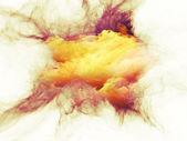 The Mist of Fractal Burst — Stock Photo