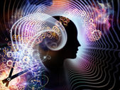 Elements of Human Mind — Stock Photo