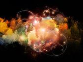 Voyages to Design Nebulae — Stock Photo