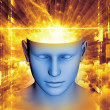 Mind Visualization — Stock Photo