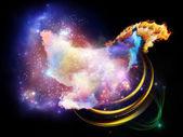 Design Nebulae Backdrop — Stock Photo