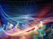 Visualization of Fractal Realms — Stock Photo