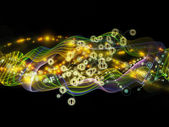 Acceleration of Dynamic Network — Stock Photo