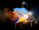 Advance of Design Nebulae — ストック写真