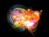 Emergence of Design Nebulae — Stock Photo