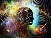 Computing Human Mind — Stock Photo