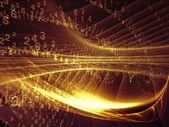 Energie van fractal rijken — Stockfoto