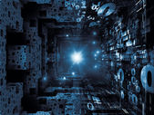 In Search of Fractal Realms — Stock Photo