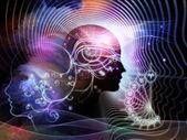 Ilusões da mente humana — Fotografia Stock