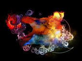 Cool Design Nebulae — Stock Photo