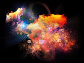 Design Nebulae Composition — Stock Photo