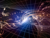 Advance of Fractal Realms — Stock Photo