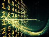 Reinos digital fractal — Foto de Stock