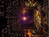 Manier van fractal rijken — Stockfoto