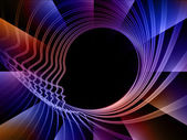 ścieżki duszy geometrii — Zdjęcie stockowe