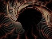 Elegancja duszy geometrii — Zdjęcie stockowe