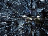 La vie monde fractal — Photo