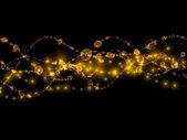 Sparkling Fractal Beads — Stock Photo
