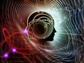 Dveře do lidské mysli — Stock fotografie