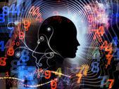 Paradigme de l'esprit humain — Photo