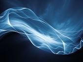 Zrychlení fraktální vln — Stock fotografie