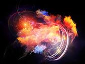 Dreaming of Design Nebulae — Stock Photo