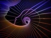 Conceptual Soul Geometry — Stock Photo