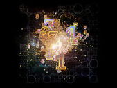 Number Elements — Stock Photo