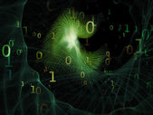 Space of Numbers — Stock Photo