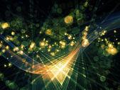 Visualización de los reinos fractal — Foto de Stock