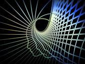 Evoluerende ziel geometrie — Stockfoto