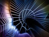 Abstracción geometría alma — Foto de Stock