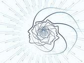 La poursuite de la géométrie de l'âme — Photo