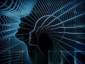 Die meditationen über die seele geometrie — Stockfoto
