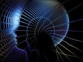 進化する魂ジオメトリ — ストック写真