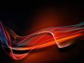 Fractal Waves Arrangement — Stock Photo