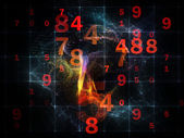 Diversity of Numbers — Stockfoto