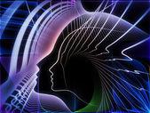 Synergieffekter av soul geometri — Stockfoto